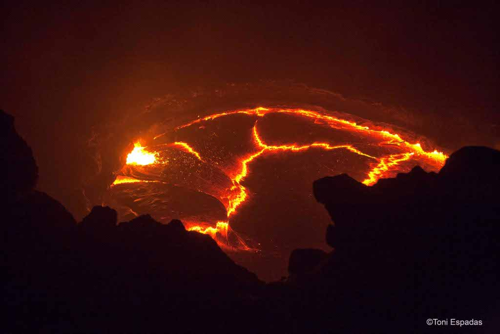 Erta Ale, el volcán que respira