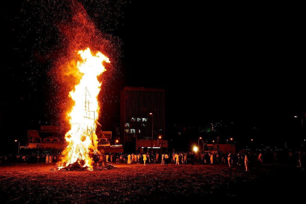 Meskel, la fiesta del fuego