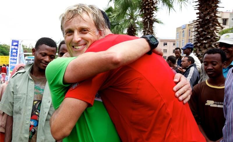 El desafío de Jesús Calleja en la maratón de Awasa