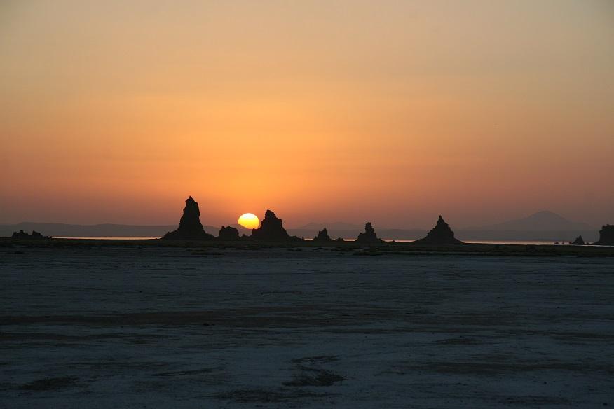 La playa de Etiopía está en Djibouti