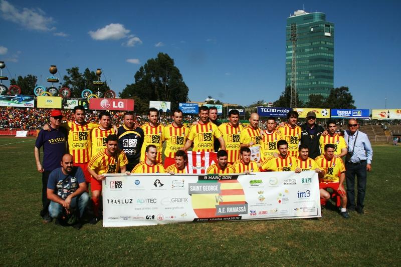 Un partido de fútbol en Etiopía que pasará a la historia