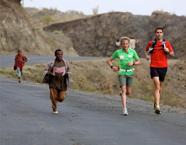 Bikila, Calleja, Granollers y una maratón