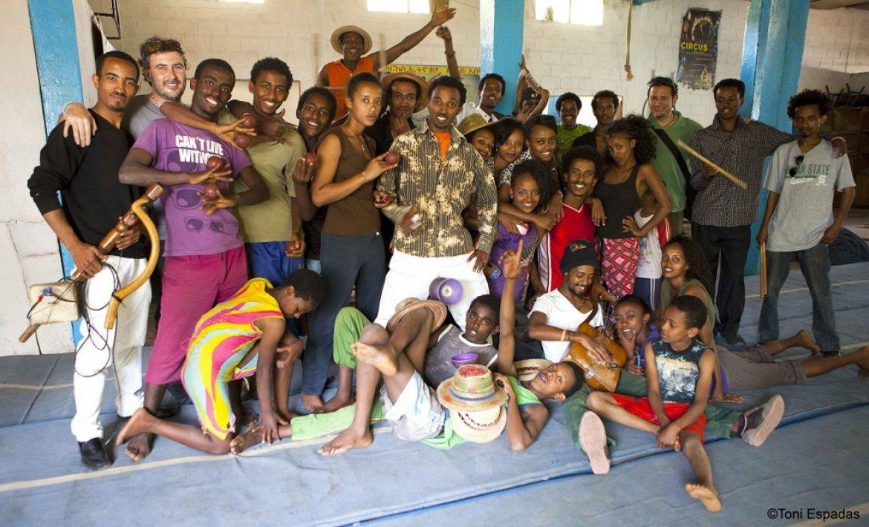 El maravilloso mundo del circo…etíope